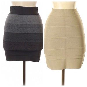 2 New BCBGMAXAZRIA skirts!